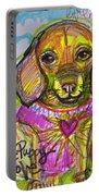 Puggle Puppy Love Portable Battery Charger