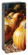 Pumpkins In The Barn Portable Battery Charger