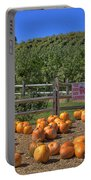 Pumpkins On The Farm Portable Battery Charger