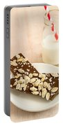 Pumpkinseed And Burnt Butter Toffee Portable Battery Charger by Edward Fielding