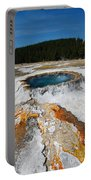Punch Bowl Spring In Yellowstone Portable Battery Charger