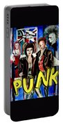Punk Style Portable Battery Charger
