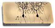 Purkinje Cells By Cajal 1899 Portable Battery Charger