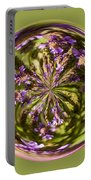 Purpble Wildflower Orb Portable Battery Charger