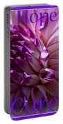 Purple Awareness Support Portable Battery Charger