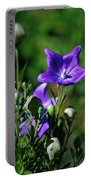 Purple Balloon Flower Portable Battery Charger