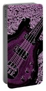 Purple Bass Portable Battery Charger