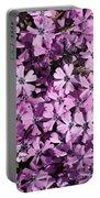 Purple Beauty Phlox Portable Battery Charger