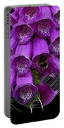 Purple Bells Portable Battery Charger