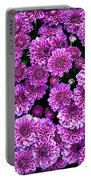 Purple Blanket Portable Battery Charger