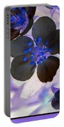 Purple Blue And Gray Portable Battery Charger