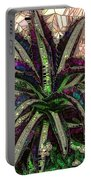 Purple Cactus II Portable Battery Charger