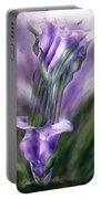 Purple Callas In Calla Vase Portable Battery Charger
