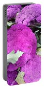 Purple Cauliflower Portable Battery Charger