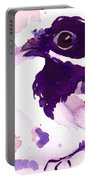 Purple Chick Portable Battery Charger