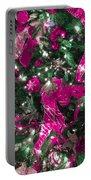 Purple Christmas Portable Battery Charger