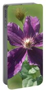 Purple Clemaits   # Portable Battery Charger