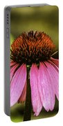 Purple Coneflower - Single Portable Battery Charger