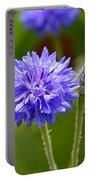 Purple Cornflower Portable Battery Charger