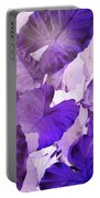 Purple Elephants Portable Battery Charger
