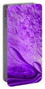 Purple Expectations Portable Battery Charger