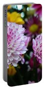 Purple Explosion Portable Battery Charger