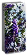 Purple Flowering Tree Portable Battery Charger