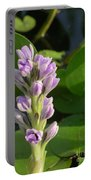 Purple Flowers In The Pantanal Portable Battery Charger