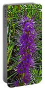 Purple Fringe On Bald Mountain In Ketchum-idaho Portable Battery Charger