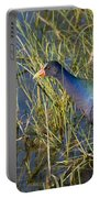 Purple Gallinule 2 Portable Battery Charger