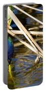 Purple Gallinule 4 Portable Battery Charger