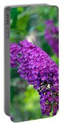 Butterfly Bush Garden Flower Portable Battery Charger