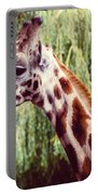 Purple Giraffe Portable Battery Charger