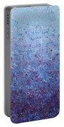 Purple Gradient Portable Battery Charger