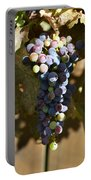 Purple Grapes Portable Battery Charger