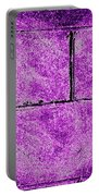 Purple Heart Portable Battery Charger