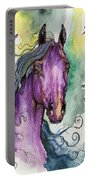 Purple Horse Portable Battery Charger