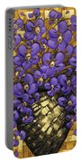 Purple In The Warm Glow Portable Battery Charger