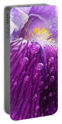 Purple Iris - 2 Portable Battery Charger