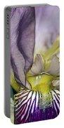 Purple Iris - Macro Portable Battery Charger