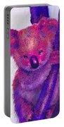 Purple Koala Portable Battery Charger