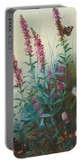 Purple Loosestrife And Watermind Portable Battery Charger