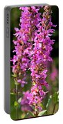 Purple Loosestrife Tall Portable Battery Charger