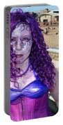 Purple Mermaid Portable Battery Charger