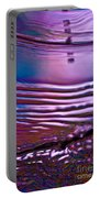 Purple Meterorite Portable Battery Charger
