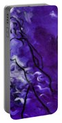 Purple Mood Portable Battery Charger