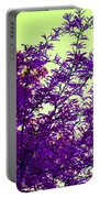 Purple Morning Portable Battery Charger