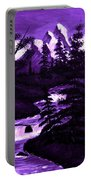 Purple Mountain Portable Battery Charger