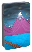 Purple Mountains Portable Battery Charger