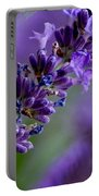 Purple Nature - Lavender Lavandula Portable Battery Charger